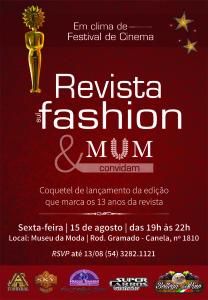 convite Revista Sul Fashion