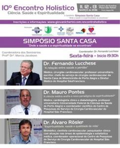Folder Simpósio Santa Casa